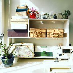 The studio of textile artist Deborah O'Toole