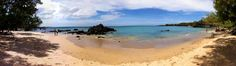 great panoramic of South Kohala beach