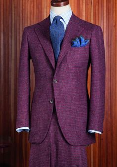 Great colour for just a jacket too overpowering for a whole suit