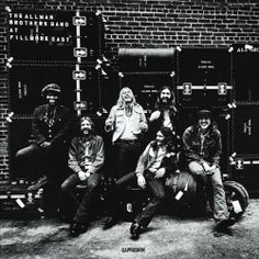 alman brothers album covers | Allman Brothers Band At Fillmore East Album Cover