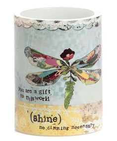 'Shine' LED Pillar Candle #zulilyfinds
