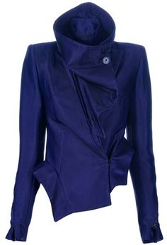 Fitted Ruffle Jacket