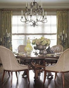 Natural Decor: Old world elegance