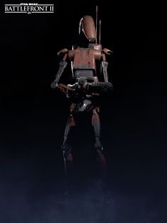An Exclusive Look at the Heavy Trooper from Star Wars Battlefront II Star Wars Rebels, Star Wars Droiden, Star Wars Pictures, Star Wars Images, Ahsoka Tano, Playstation, War Novels, Battle Droid, Star Wars Characters