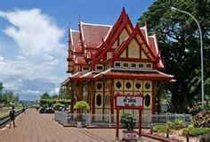Thailand ,. Hua Hin  Railway Station - Bing images    - Vernacular Orientalism Style architecture