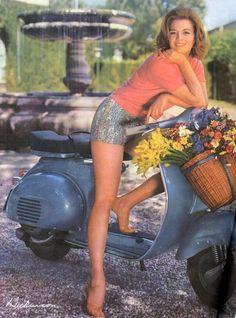 #ridecolorfully, basket for flowers, fruit, wine