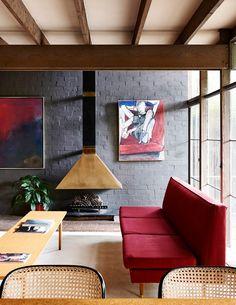 #vintage  #retro  #interior_design  #wooden_beams