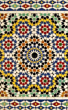 Tile Patterns, Pattern Art, Textures Patterns, Geometric Patterns, Moroccan Print, Moroccan Pattern, Moroccan Tiles, Moroccan Decor, Arabesque