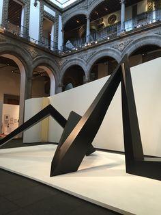 """Mathias Goeritz """"El retorno de la Serpiente""""  Palacio de Iturbide  México, city."""