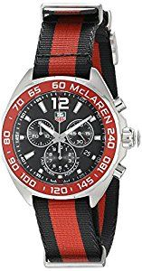 Shop TAG Heuer Men's Formula 1 Red And Black Stainless Steel Watch ✓ free delivery ✓ free returns on eligible orders. Black Stainless Steel, Stainless Steel Watch, Stainless Steel Bracelet, Tag Heuer, Cool Watches, Watches For Men, Emporio Armani Mens Watches, D 40, Swiss Army Watches