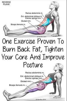 1 Exercise Proven To Burn Back Fat, Tighten Your Core & Improve Posture!!! - Way to Steal Healthy