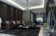 dark-Living-room-feature-walls
