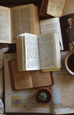 Tea, Coffee, and Books Coffee And Books, Brown Aesthetic, Rainbow Aesthetic, Keep It Real, Old Books, Vintage Books, Vintage Library, Antique Books, Book Photography