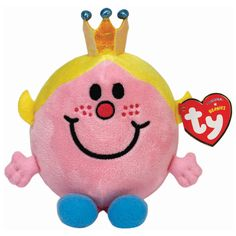 Little Miss Princess Beanie Plush Toy