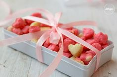 Mini Cookies | Heart Shaped Mini Cookies | Christmas Edible Gifts | New Year Recipes | Valentine's Day Recipes