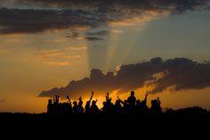 Happy at sunset by Björn Wiklander, via 500px