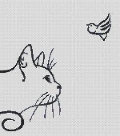 Cross stitch patterns animals Free shipping Cross by WellAnna