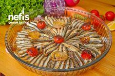 Fırında Hamsi Buğulama Turkish Recipes, Apple Pie, Seafood, Salsa, Food And Drink, Fish, Desserts, Snap Peas, Sea Food