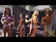 Female bodybuilding!   2012 Olympia Backstage Footage