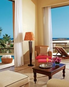 Up the luxury (and romance) factor and stay in the spacious Honeymoon Suite with a pool. #Jetsetter