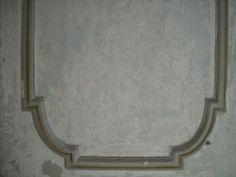 specchiatura moodanata, dopo la rimozione della pellicola di pittura lavabile