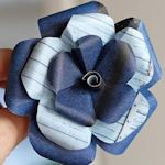 This site shows you how to make 50+ types of flowers out of different kinds of paper.  Awesome!