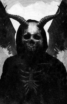 The Angel Of Death by Devin-Francisco.deviantart.com on @DeviantArt