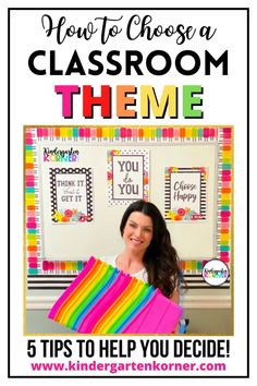 Choosing a classroom theme can be a tough decision. I will share my top 5 tips that will help teachers choosing a theme to fit their style! Classroom Jobs, Classroom Design, Classroom Organization, Classroom Decor, Classroom Management, Kindergarten Readiness, Kindergarten Classroom, Classroom Inspiration, New Teachers