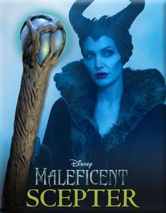 Planning on being Maleficent for Halloween?  Then you'll want to make her scepter!
