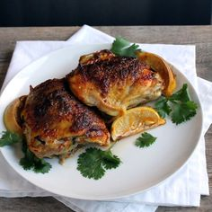 The Stay At Home Chef: Moroccan Chicken Thighs