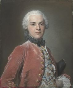 Henry Dawkins (1728 - 1814) was MP for Southampton, by Maurice Quentin de la Tour, 1750