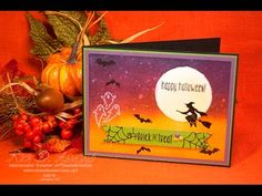 Spooky Night Sky Card (2016 Stampin' Up! Holiday Catalog Sneak Peek)