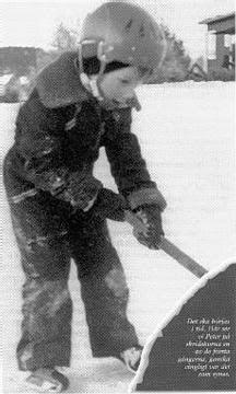 Little Peter Forsberg on skates.                                                                                                                                                                                 More