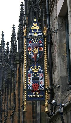 The Witchery - Edinburgh, Scotland--Part of the famous Edinburgh restaurant of the same name, the overnight accommodation at the Witchery is romantic and sumptuous - the rooms decorated with Gothic antiques and elaborate tapestries