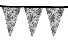 Halloween Cobweb Bunting Halloween by BlossomvioletCrafts on Etsy