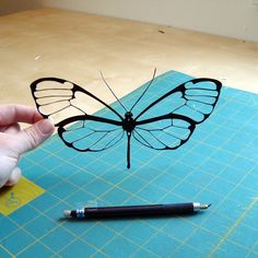 ... hand-cut butterfly.  If I only had the time.