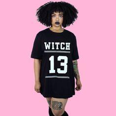 Witch 13 Tee Shirt - Witch - Goth - Nu Goth - Witch Worldwide