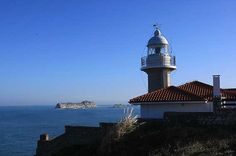 Faro de Suances | Cantabria | Spain Surf, Capital City, Cn Tower, Lighthouse, Castle, World, Building, Travel, Lighthouses