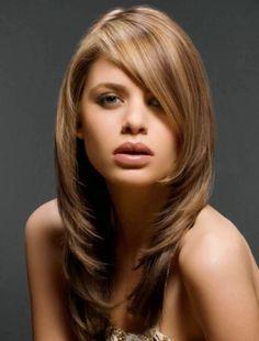 femme coupe cheveux long - Recherche Google