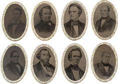 1860 presidential election ferrotype belt buckles make $58,750