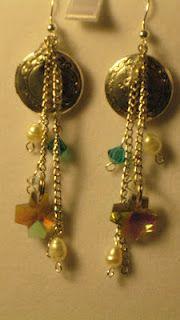 locket earrings