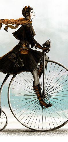 Andar en bici.