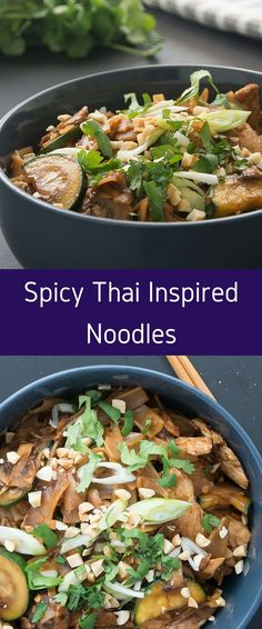 Spicy Thai Inspired Noodles
