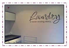 Going in my laundry room someday! Ending Story, Bachelorette Pad, Wet Rooms, Laundry Room, Small Laundry, Sweet Home, New Homes, Indoor, Diy Crafts