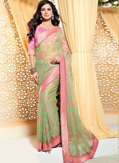 http://www.sareebuzz.in/sarees/breathtaking-brasso-georgette-lace-work-designer-saree-11795  Breathtaking Brasso Georgette Lace Work Designer Saree  Item Code: :11795 Color :Green  Occasion :Party Festival  Fabric :Brasso Georgette  Work :Lace  For Inquiry Or Any Query Related To Product, Contact :- +91 9974 111 22