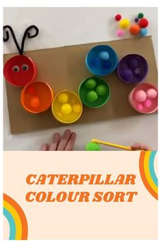 Preschool Learning Activities, Infant Activities, Preschool Activities, Kids Learning, Diy Learning Toys For Toddlers, Alphabet Games For Preschoolers, Diy Toys For Babies, Color Sorting For Toddlers, Child Development Activities
