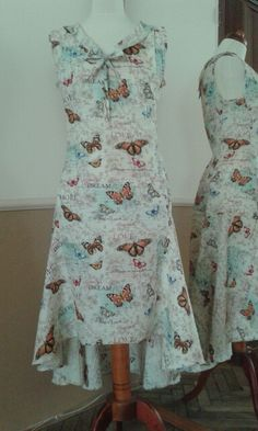 Butterfly dress Butterfly Dress, Summer Dresses, Fashion, Moda, Summer Sundresses, La Mode, Fasion, Summer Clothes, Fashion Models