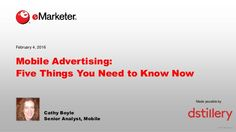 Mobile Advertising: Five Things You Need to Know Now
