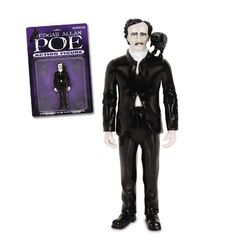If It's Hip, It's Here: Plenty of Poe for Halloween. Edgar Allan Poe Poems, Art, Housewares, Toys & Links. (Edgar Allan Poe Action Figure)