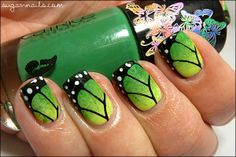 Sweet Sugar: Butterfly Nails